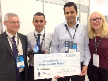 ENTREVISTA com ganhadores do Prêmio Jovem da Água de Estocolmo