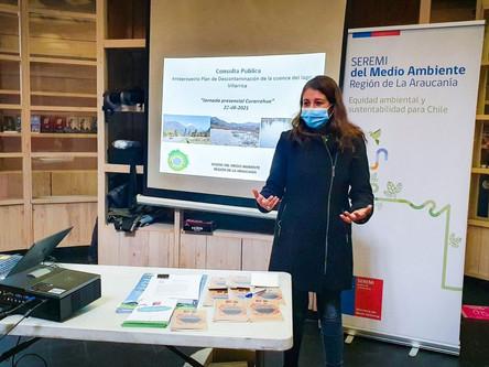 Medio Ambiente realiza actividades en el marco de la consulta pública del PDA de la Villarrica