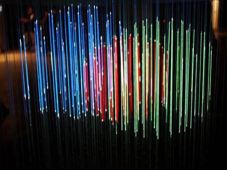 Mágica ? Lumarca é uma escultura 3D fascinante feita de corda e luz