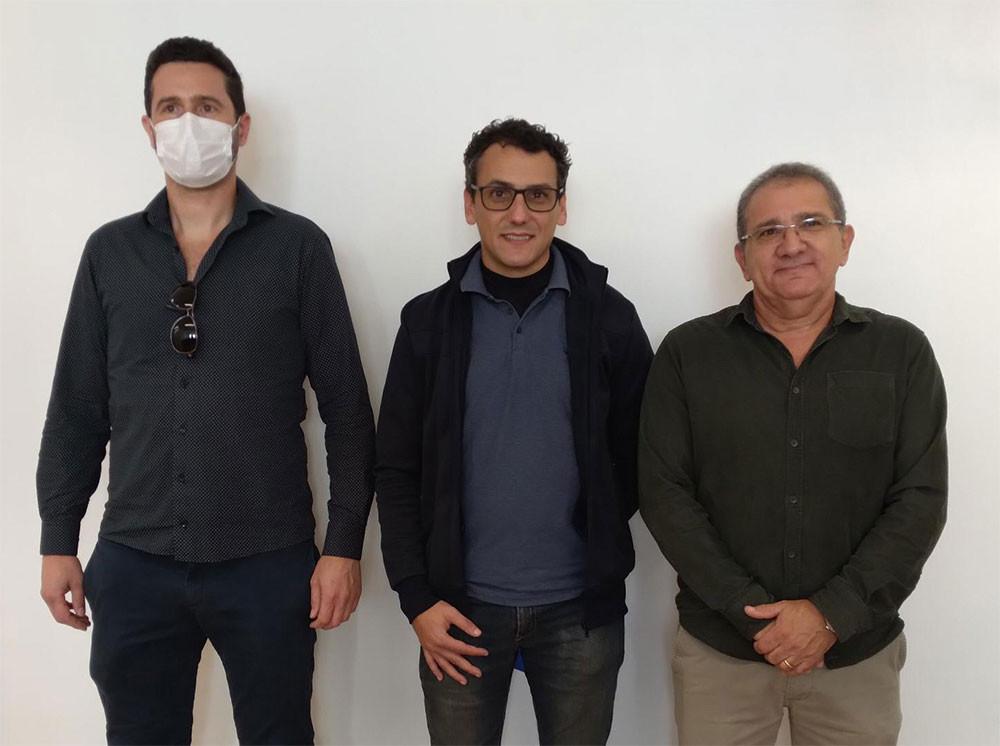 Jules Parisotto, Marcelo Andrada e Aliatar Dutra.