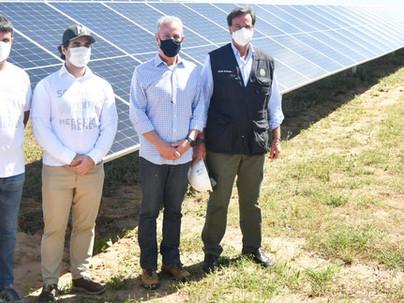Usinas solares capazes de abastecer 800 mil famílias são inauguradas em Pernambuco