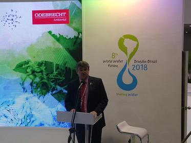 ABERTURA OFICIAL DO PAVILHÃO BRASIL MARCA O PAÍS COMO SEDE DO 8º FORUM MUNDIAL DA ÁGUA EM 2018