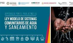 El PARLATINO aprueba la Ley Modelo de Sistemas Comunitarios Agua y Saneamiento con apoyo de México