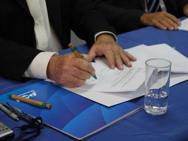 Agência das Bacias PCJ, Sanasa e Fundespa firmam o primeiro contrato sobre reúso da água nas Bacias
