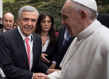 """No Vaticano, Ben Braga, Presidente do Conselho Mundial da Água, participa do evento """"O direito human"""