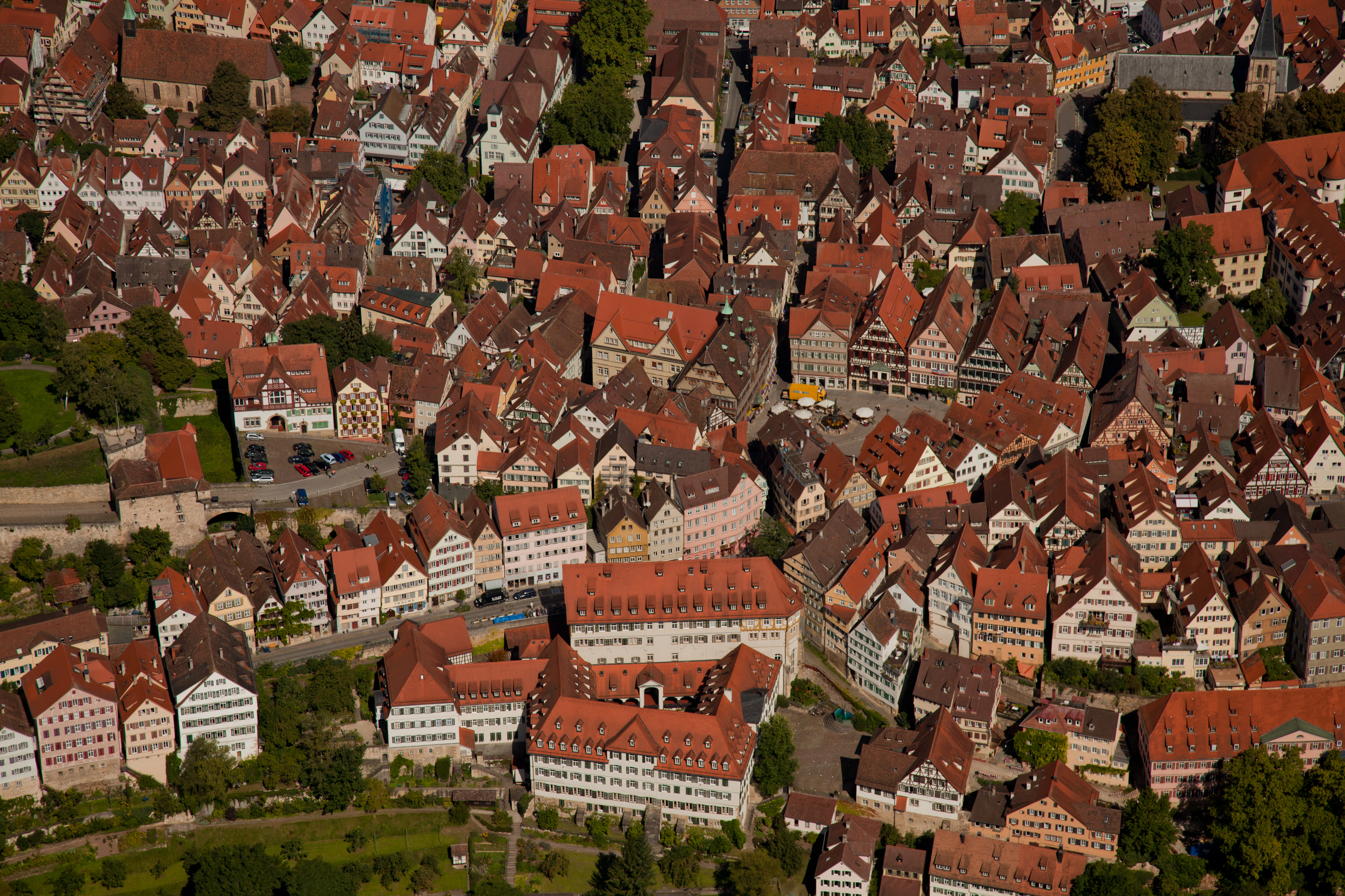 Blick auf die Altstadt Foto Regio Stuttgart