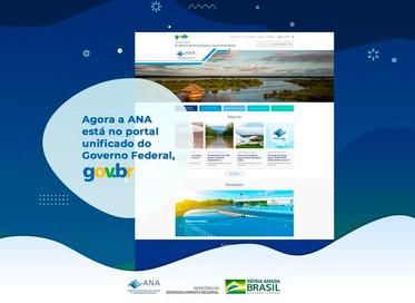 Site da Agência Nacional de Águas e Saneamento Básico muda para www.gov.br/ana