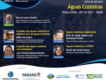 Roda de Diálogos - Águas Costeiras  do XXIII ENCOB