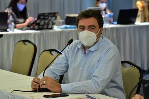 Presidente da entidade, Kleber Santos, em foto durante a última reunião da CCEAGRO, descreve a atuação da Confaeab
