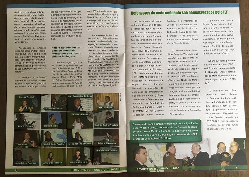 REVISTA DO COMBIO