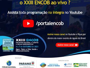 XXIII ENCOB disponibiliza toda sua programação na íntegra para ser assistida no Youtube