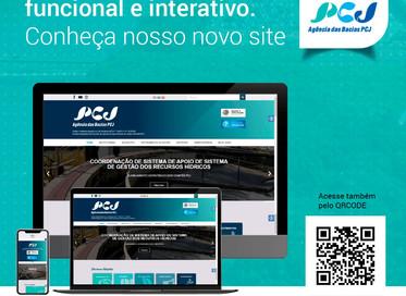 Agência das Bacias PCJ lançou novo site no dia 28