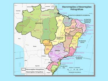 ANA e IBGE lançam inéditas bases de dados hidrográficos do Brasil