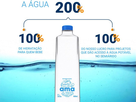 Ambev lança sua primeira marca de água mineral com lucros revertidos para o semiárido brasileiro