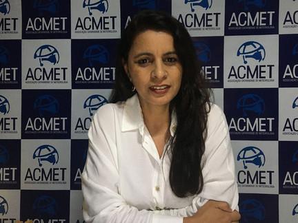 Apresentação da nova presidente da Associação Catarinense de Meteorologia aos associados da ACE