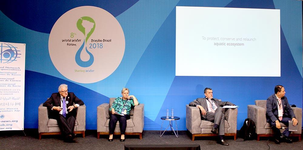 Organismos de bacia do mundo dialogam sobre a gestão das águas