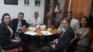 Reunião com a Deputada Raquel Muniz, Presidente da Comissão Especial da Crise Hídrica em Minas Gerai