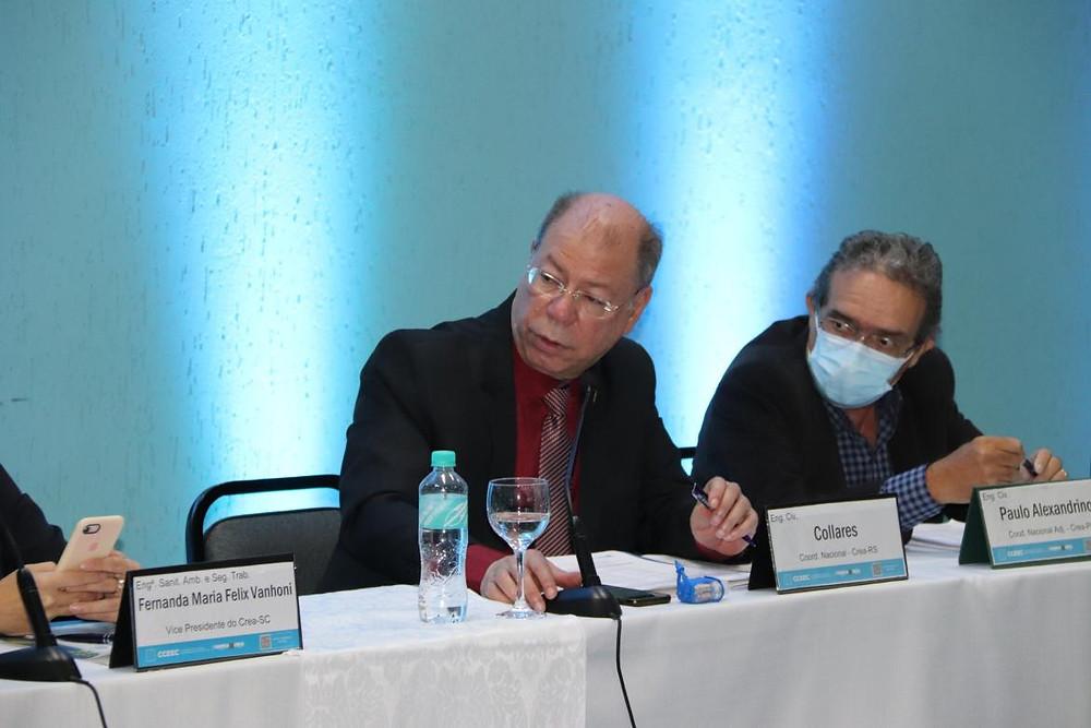 Coordenador titular João Collares, e adjunto Paulo Alexandrino