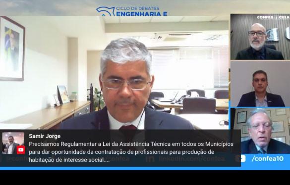 Secretário de Habitação, Alfredo Eduardo dos Santos: todas as casas do programa irão receber respaldo técnico