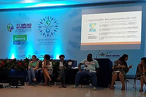 GESTÃO PARTICIPATIVA E SOCIAL DA ÁGUA - ENCONTRO REGIONAL SUDESTE