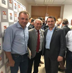 Visita do governador do Estado, Comandante Moisés à sede da Associação catarinense de engenheiros-AC