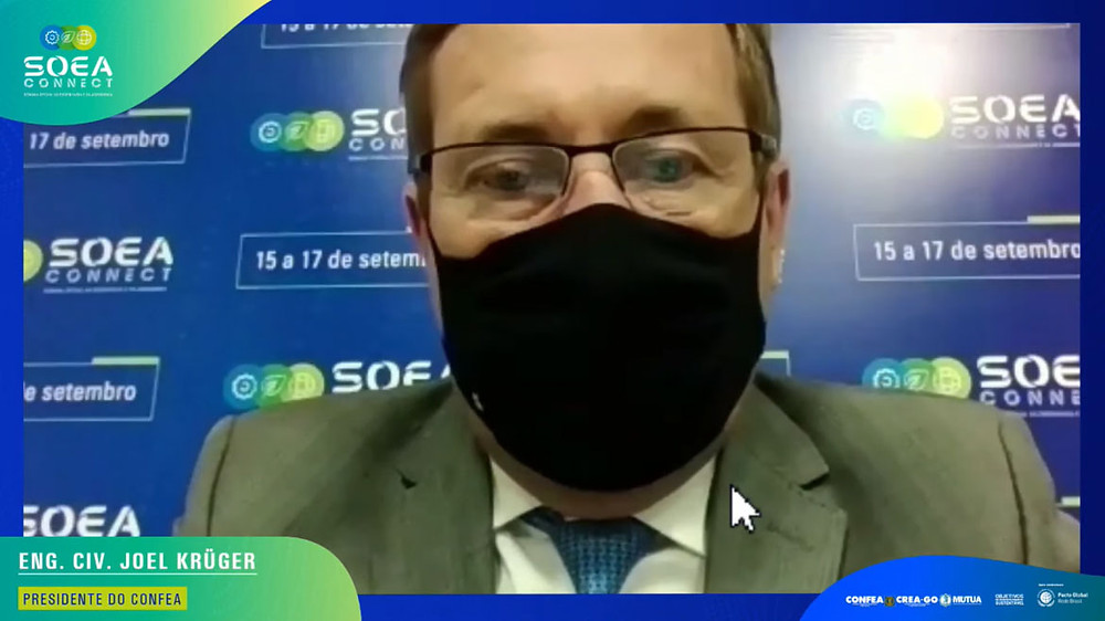 Soberania nacional é destacada pelo presidente do Confea, Joel Krüger