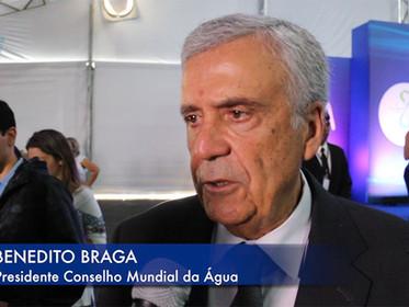 ENTREVISTA com Benedito Braga, presidente do Conselho Mundial da Água, para o Fórum Cidadão