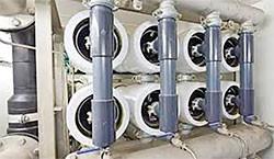 Balanço de massa de um sistema de ultrafiltração e osmose reversa para dessalinização de água salobr