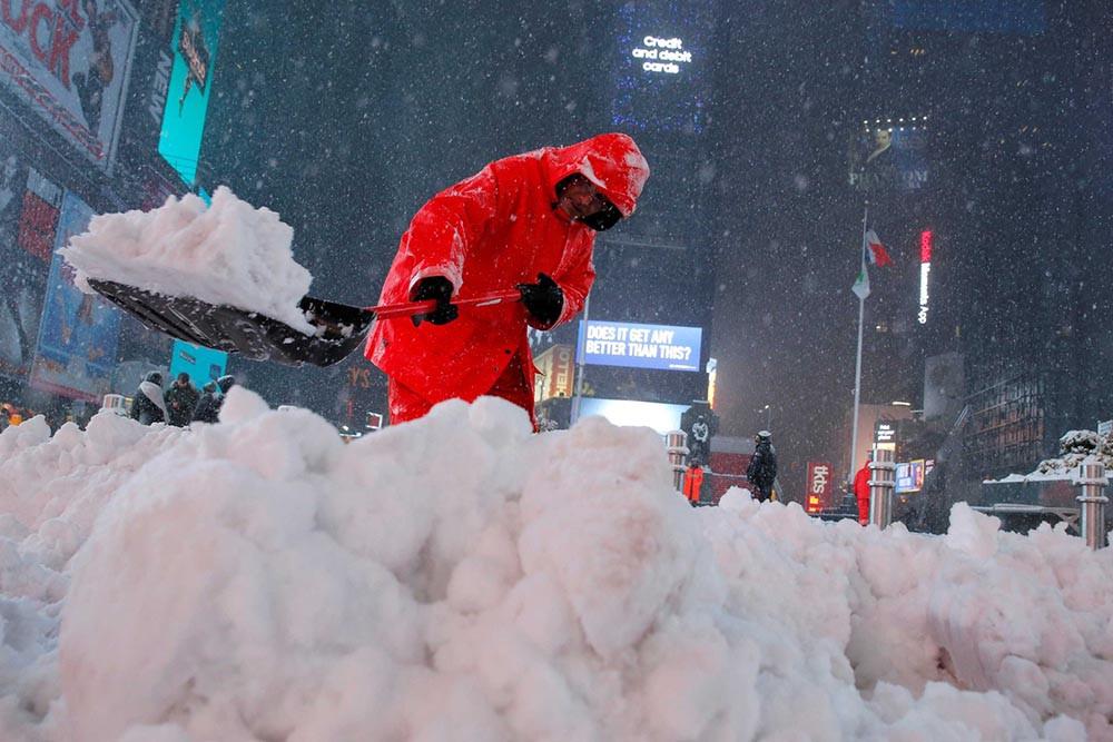 Nevasca de fim de inverno atinge nordeste dos EUA e cancela voos