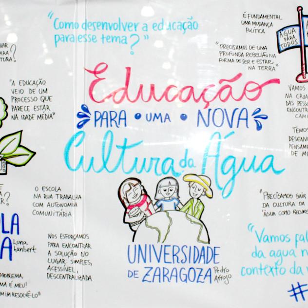 EDUCAÇÃO PARA UMA NOVO CULTURA DA ÁGUA