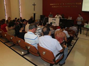 Reflexos do rompimento das barragens em Mariana são abordados em reunião do CBH-Piranga