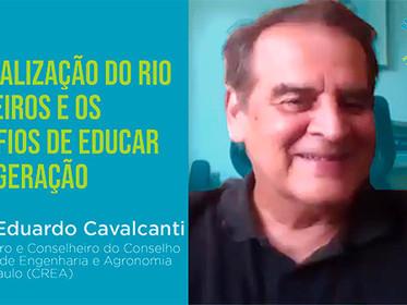 Entrevista hoje as 18h com José Eduardo Cavalcanti: A  Revitalização do Rio Pinheiros e os Desafios