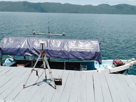 Lago de Coatepeque ha perdido siete metros de nivel en los últimos 40 años