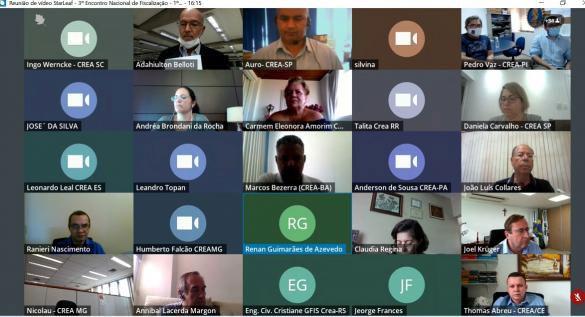 Participantes da terceira edição do Enafisc