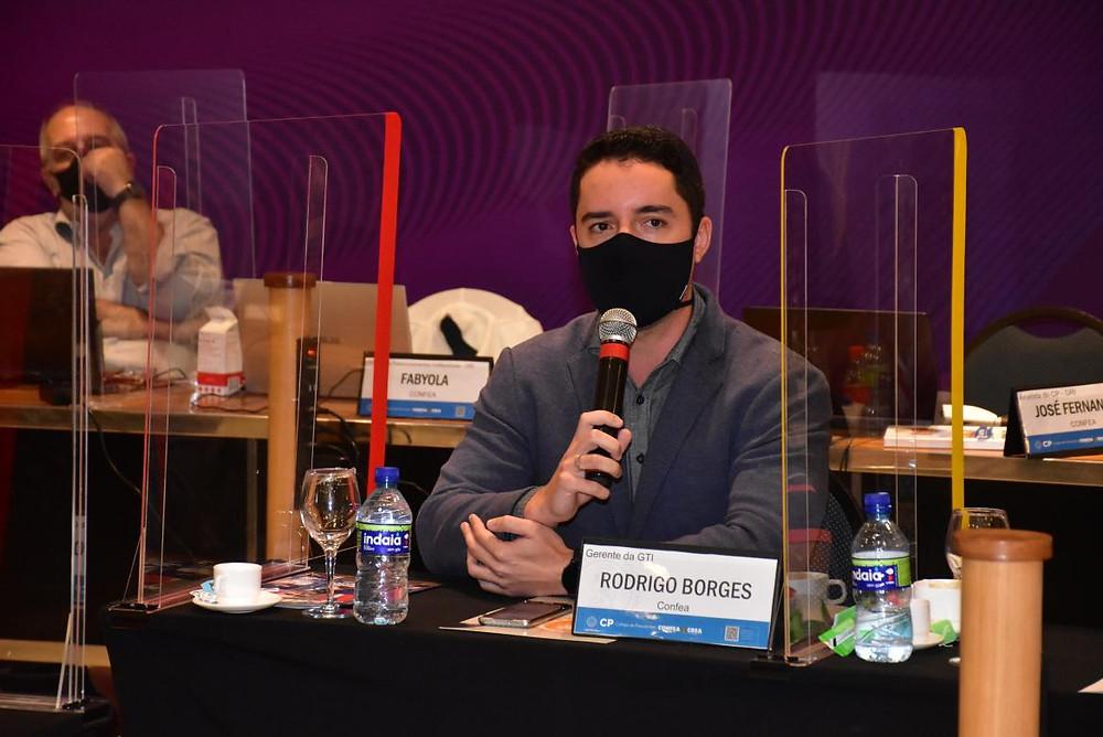 Rodrigo Borges, gerente de TI do Confea