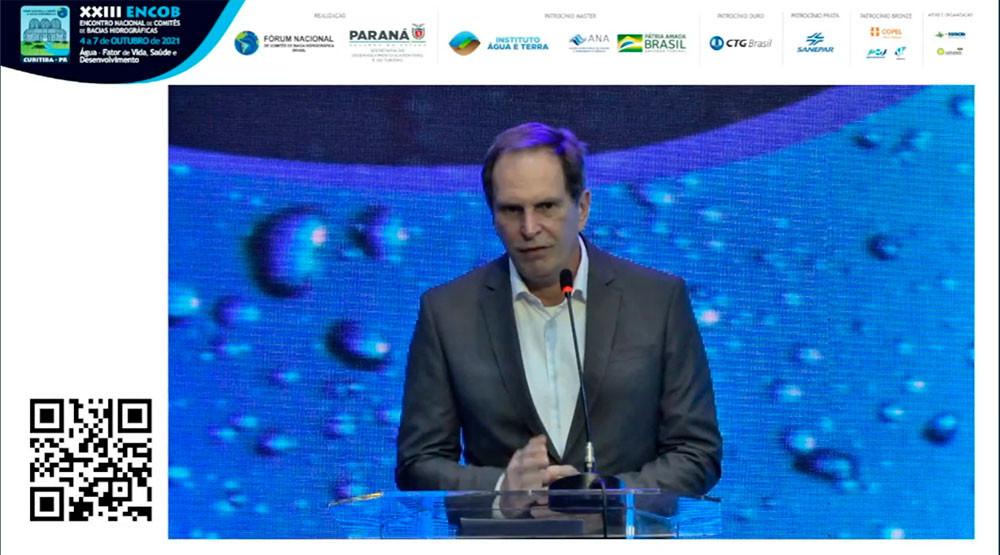 Julio Gonchoroski - Diretor de Saneamento Ambiental e Recursos Hídricos do IAT
