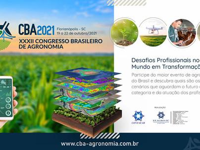 Congresso Brasileiro de Agronomia em Florianópolis