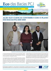 Eco das Bacias PCJ - Outubro/ Novembro / Dezembro 2017 -  Nº 8 - AÇÃO ECO CUENCAS CONTRIBUI COM O PL