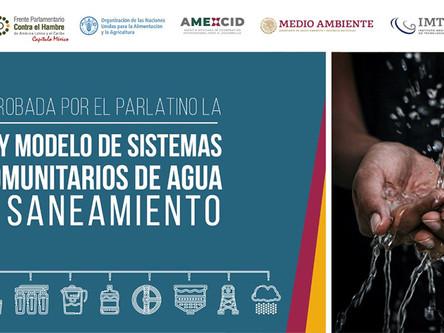El PARLATINO aprueba la Ley Modelo de Sistemas Comunitarios de Agua y Saneamiento