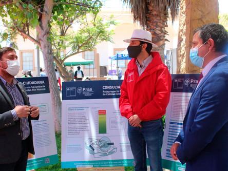 Con éxito culminó feria itinerante sobre difusión de las para las aguas del río Huasco
