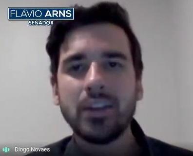 Assessor legislativo do senador Flávio Arns, Diogo Novaes