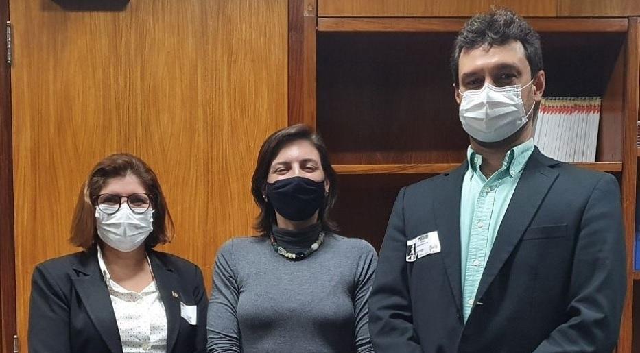 Lideranças do Crea-RN estiveram com a deputada Natalia Bonavides (PT-RN) na terça-feira