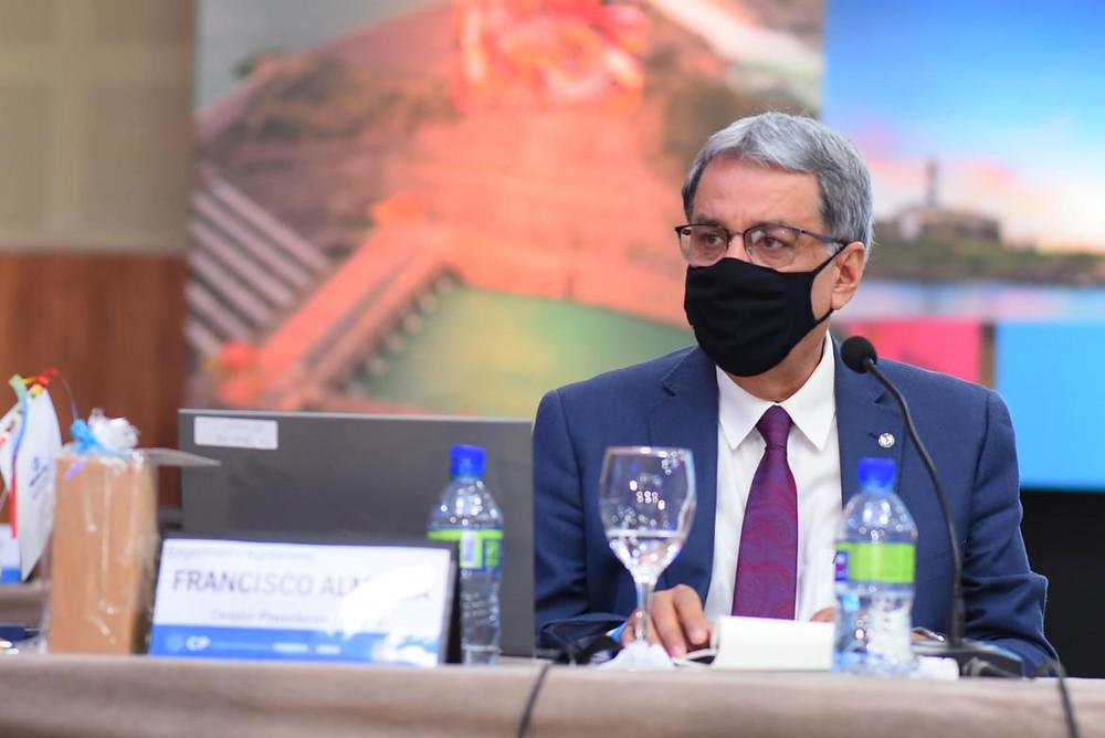 Diretor-presidente da Mútua, eng. agr. Francisco Almeida