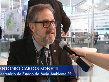 ENTREVISTA com, Antônio Carlos Bonetti, Secretário de Estado do Meio Ambiente do Paraná, para o Fóru