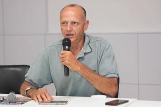 Winston Caetano, presidente do CBH Rio Paraopeba, destaca a importância do Comitê nas tomadas de dec