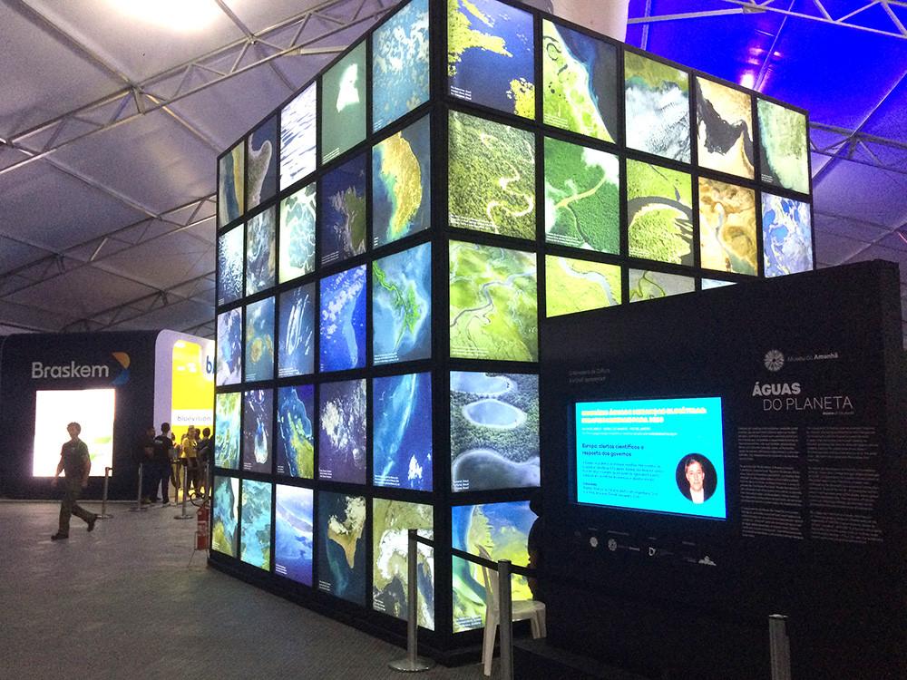 Museu do Amanhã traz experiência visual para o 8º Fórum Mundial da Água