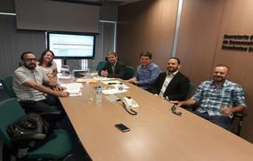 Reunião de Alinhamento da programação do ENCOB 2018 com a Comissão Local do Estado de Santa Catarina