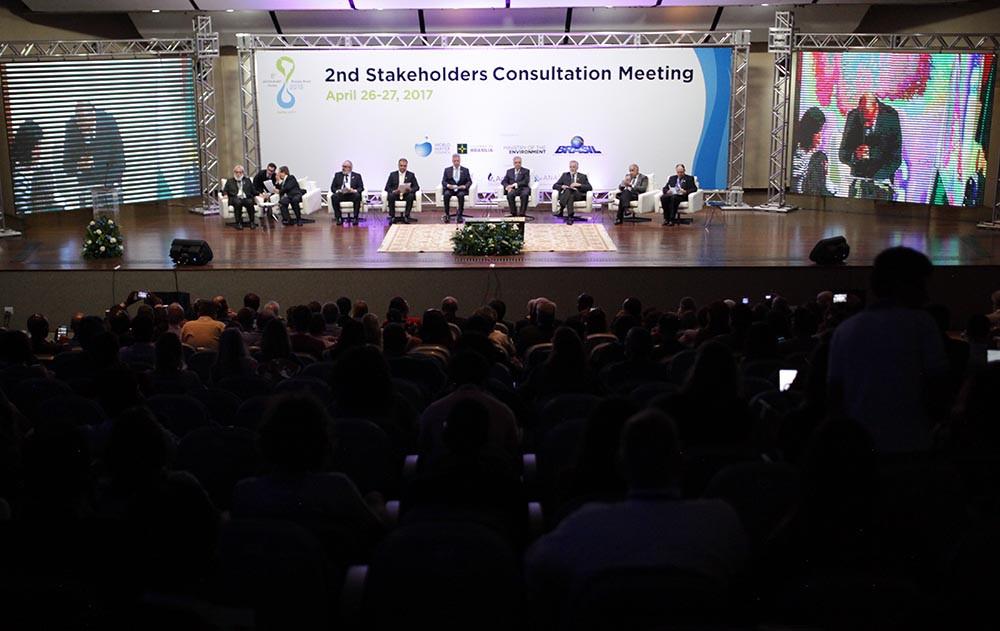 Representantes de 70 países se reuniram em Brasília para discutir temas do 8º Fórum Mundial da Água