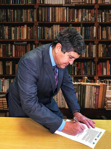 Jose Paulo Netto, presidente da ABAS assina a carta Brasil-Belgica
