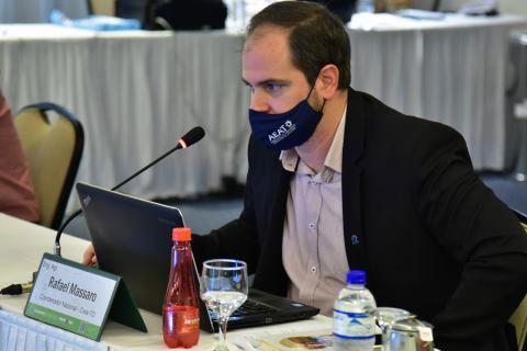 Coordenador da CCEAGRO, Rafael Massaro